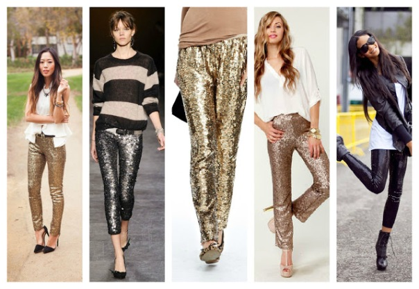 Sequin+Leggings