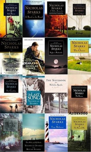 Image result for nicholas sparks books