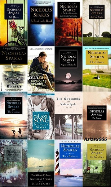 Most of Nicholas Sparks' books.