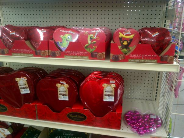 Not gonna lie, I could totally devour a chocolate heart right now.