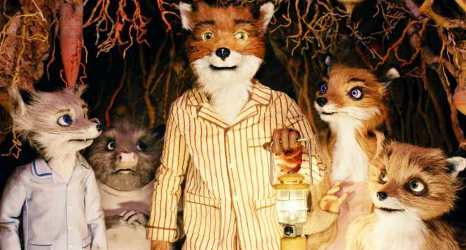 Mr. Fox, saving the night.