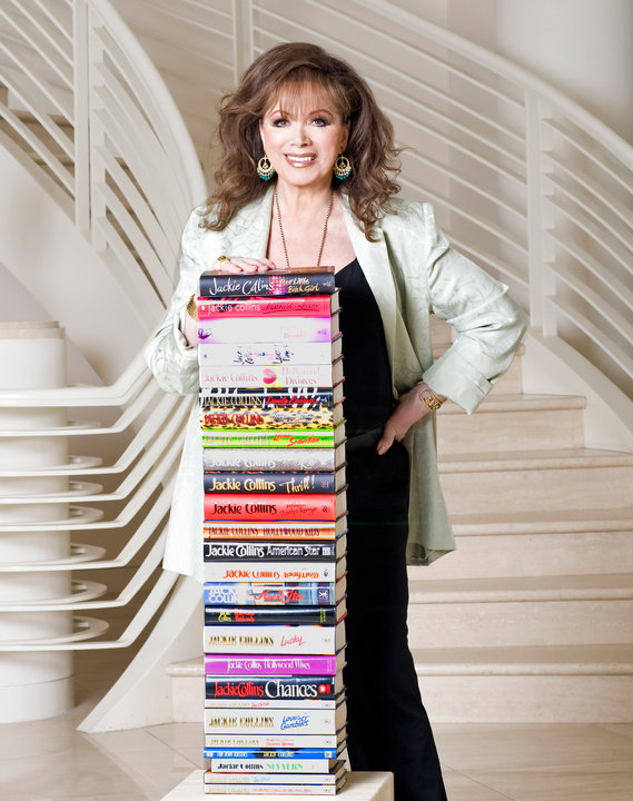 The one and only, Jackie Collins.