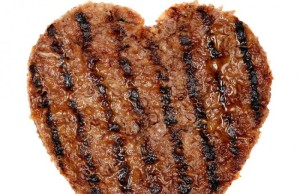 Burger heart. Yummers.