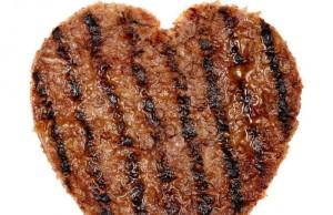 Burger heart. Yummers.