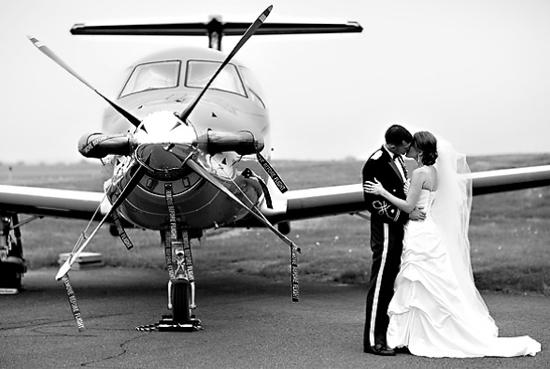 Love is taking flight.