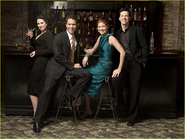 The cast from my favorite show, Will & Grace