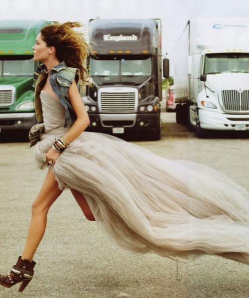 Runaway in style...