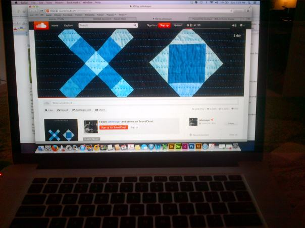 XO on repeat.