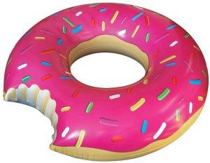 Calorie-free sprinkled donut!
