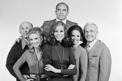 Photo from Time magazine, which named MTM as a show with one of the best pilots ever.