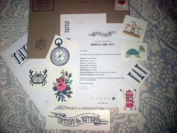 June Tattly pack!