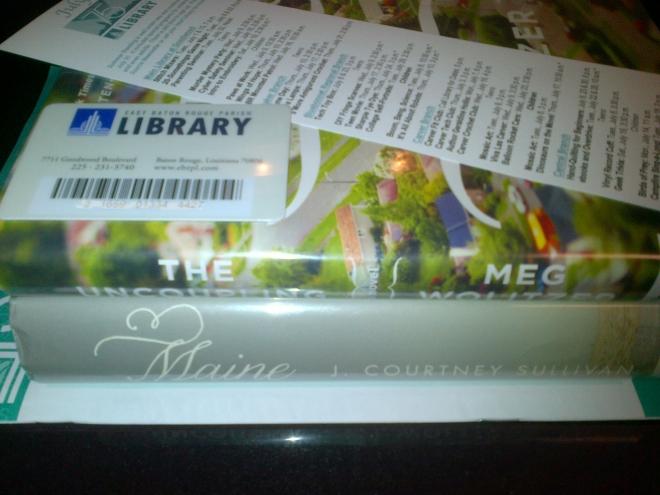 Nerd alert: I got a library card!