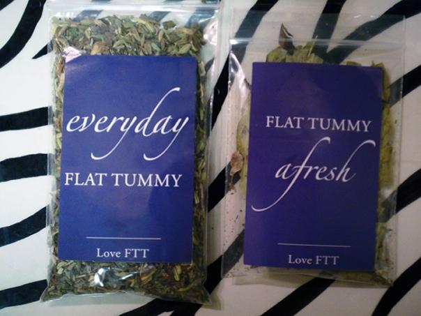 It's my Flat Tummy Tea!