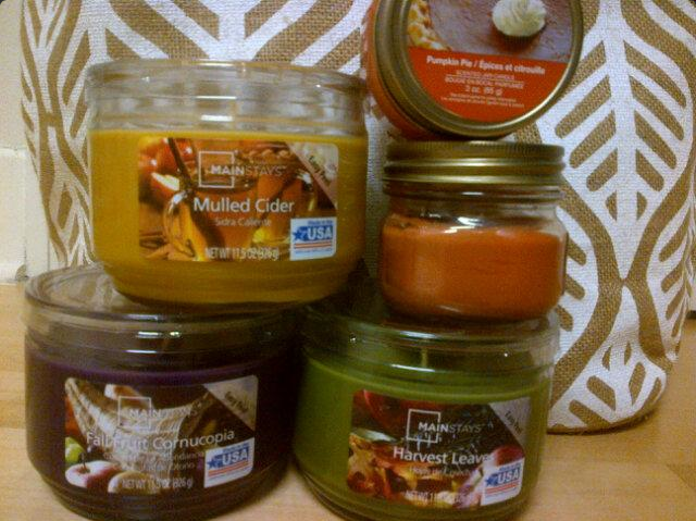 Completely hyped on fall candles, per usual.