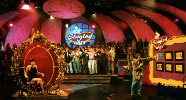 A scene from MTV's Singled Out.