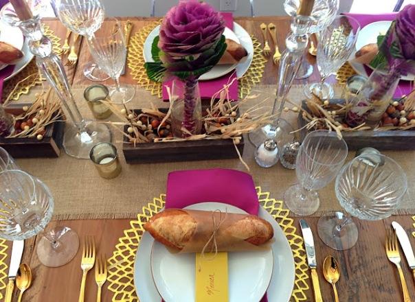Pretty for the turkey!
