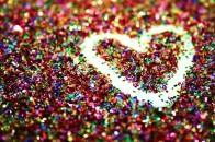 Sparkle heart.