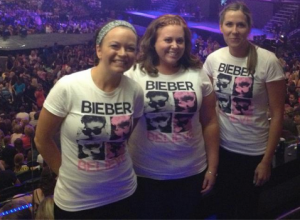 Justin Bieber concert.
