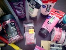Various paints.