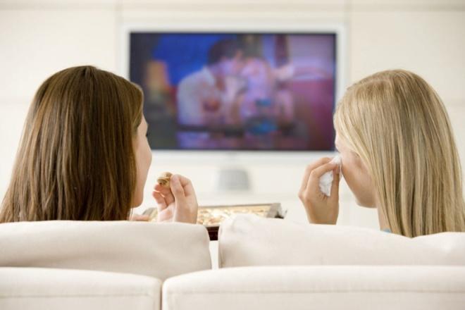 It's more fun watching TV on a free flat screen!