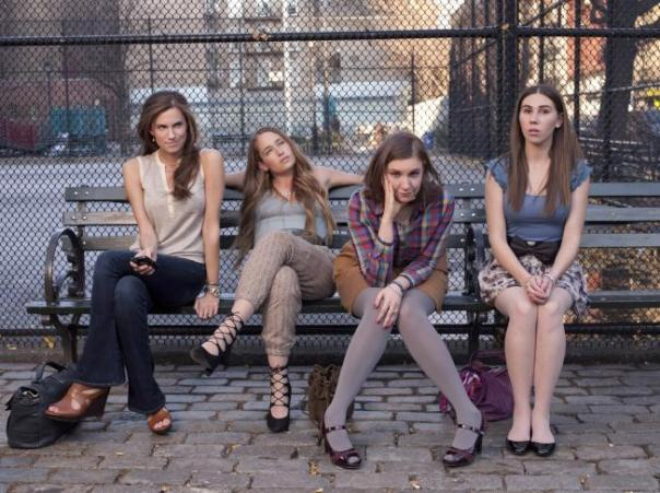 "The cast of HBO's ""Girls"""