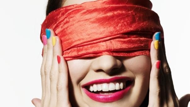 Nice blindfold.