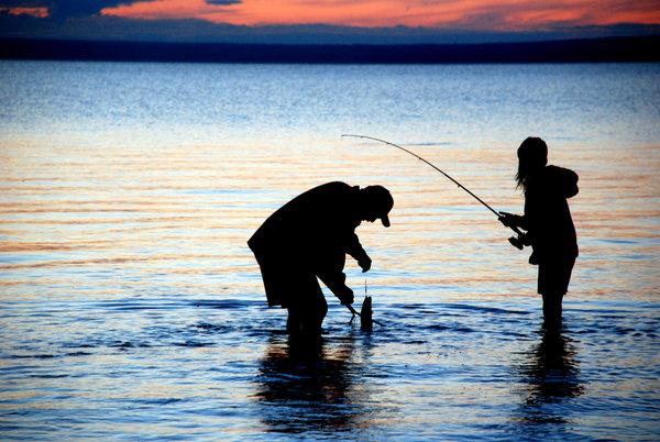Gone fishin'.