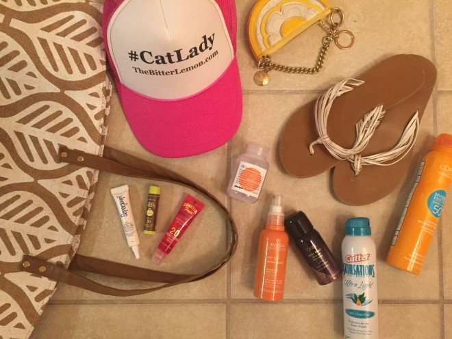 All of my beach essentials!