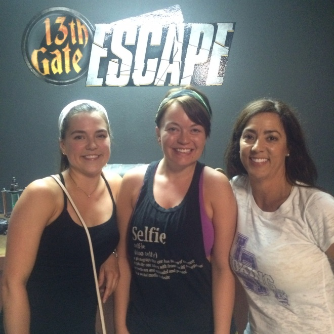 3/7 of us that ESCAPED!