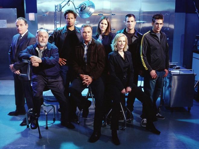 The original CSI crew.