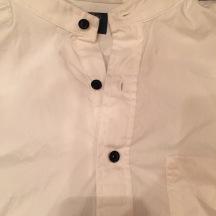 Custom tuxedo shirt.