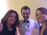 Me & Sheena with the groom!