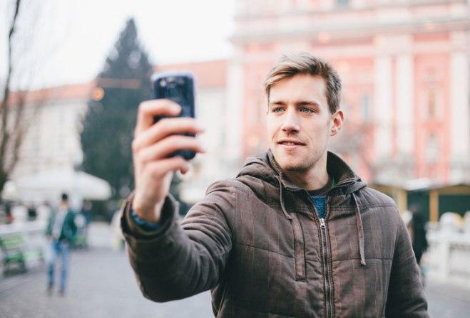Wait, let me take a selfie.
