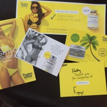 Protein World weight loss guide.
