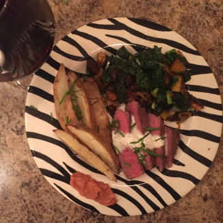 Steak & Beet panzanella