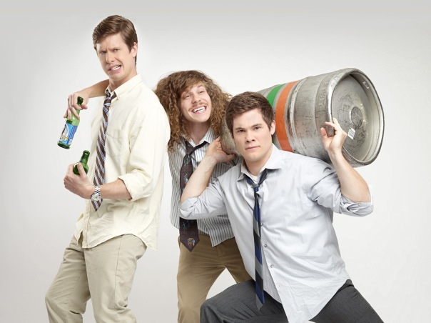 "The cast of Comedy Central's ""Workaholics"""