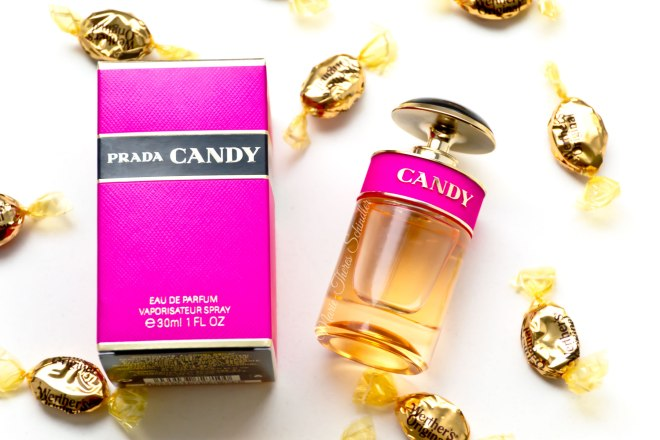 A sweet-smelling perfume by Prada.