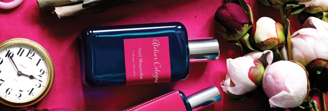 Pretty bottle, beautiful scent.