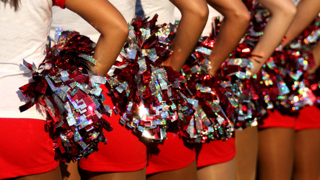 Living the cheerleading dream... well, kinda.