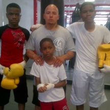 Boxing class!