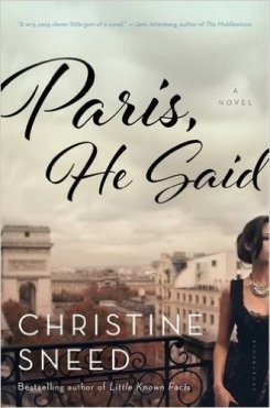 Swooning over Paris.