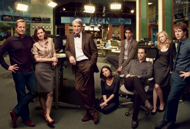 The cast of 'The Newsroom' season one.