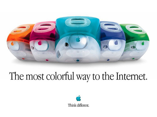 The 90's bought us the iMac.