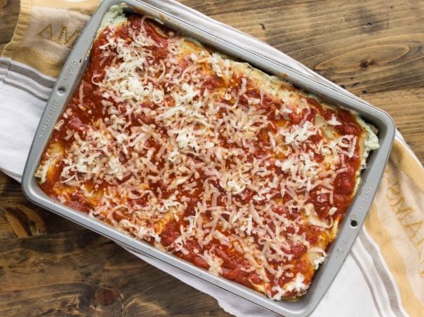 Vegetarian lasagna!