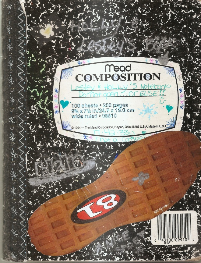 The top secret notebook!