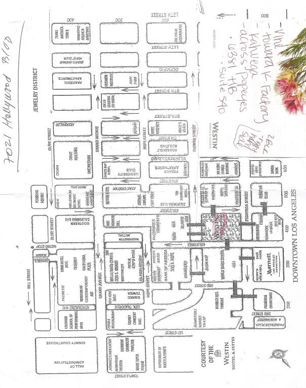 LA map.