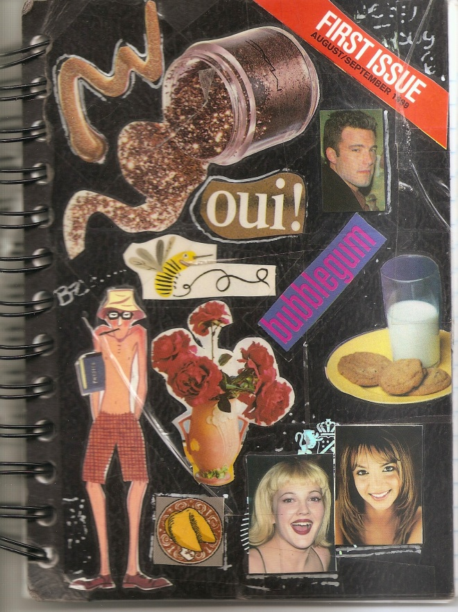 Notebook cover.