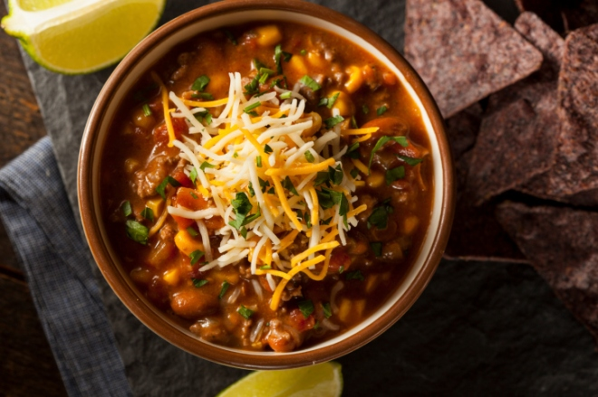 All hail the perfect chili!