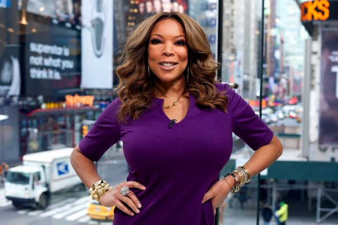 Daytime talk show host Wendy Williams.