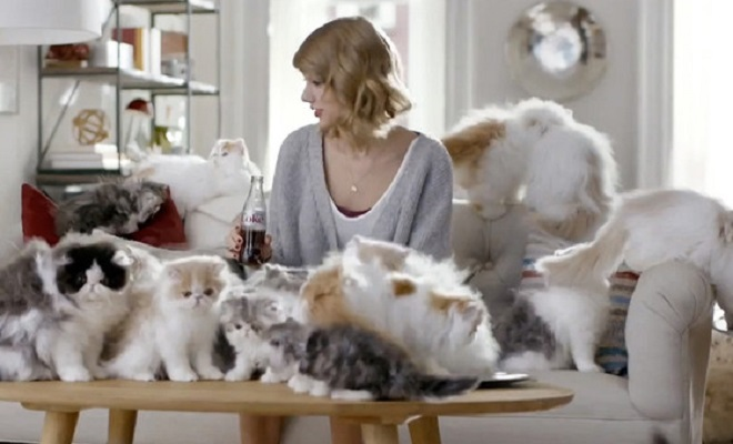 Is Taylor Swift a cat lady?!
